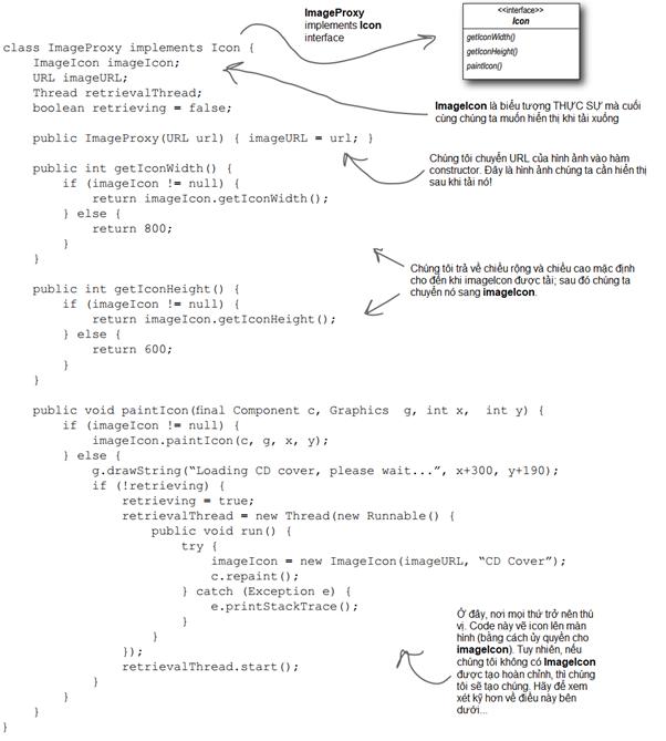 Viết code Image Proxy